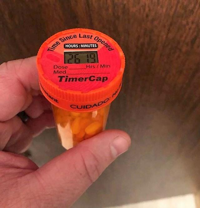 Kutijica za lijekove koja pamti kada je posljednji put otvarana