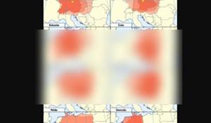 Državljane raznih zemalja su pitali tko spada u centar Europe, evo kako je prošla Hrvatska