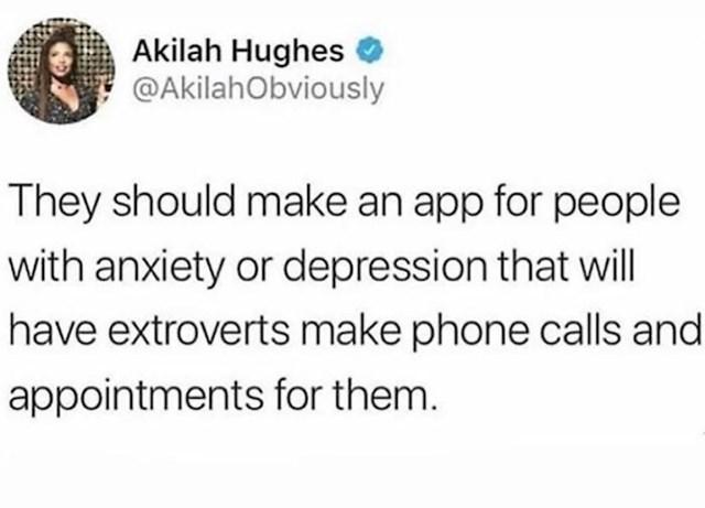 Trebali bi napraviti aplikaciju preko koje ekstroverti obavljaju pozive za introverte