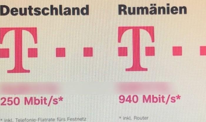 Ostat ćete u šoku kad vidite razliku u cijeni flat interneta u Njemačkoj i Rumunjskoj