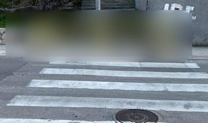 Neobjašnjivi pješački prijelaz iz Solina postao hit na Fejsu: Tko je ovo odobrio!?