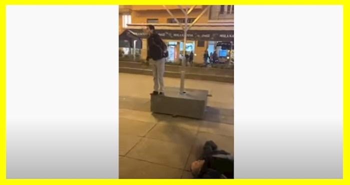 Širi se bizarna snimka iz Zagreba: Riječi ne mogu opisati što se tu događa, morate pogledati