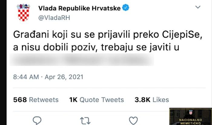 Svi dijele ovu satiričnu fotku koja najbolje pokazuje što se događa s cijepljenjem u Hrvatskoj