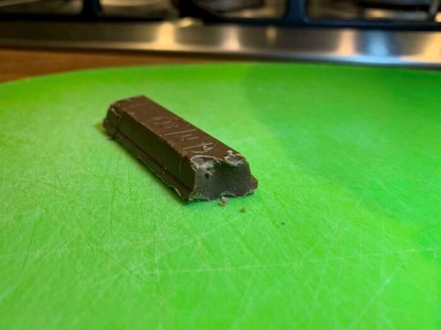Kitkat koji je ispao obična čokoladica