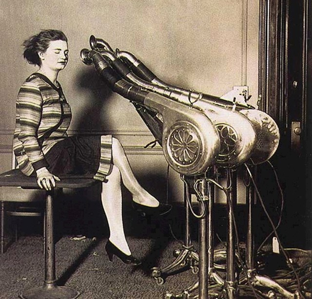 Fen za kosu, 1920.