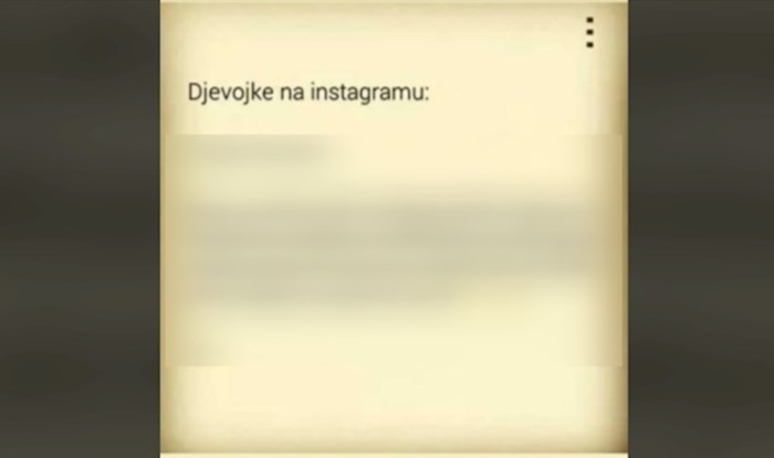 Netko je opisao djevojke na Instagramu i umiremo od smijeha