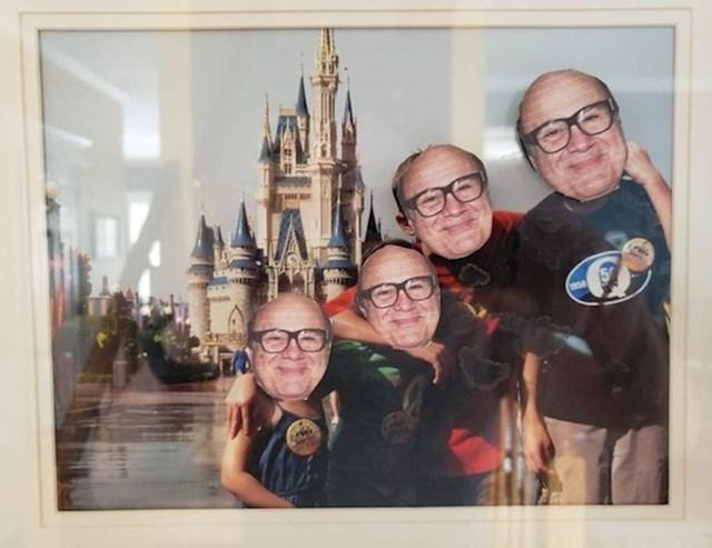 Kćer je zalijepila ovo na sve fotografije u našoj kući da vidi koliko će trebati mojoj ženi da primjeti