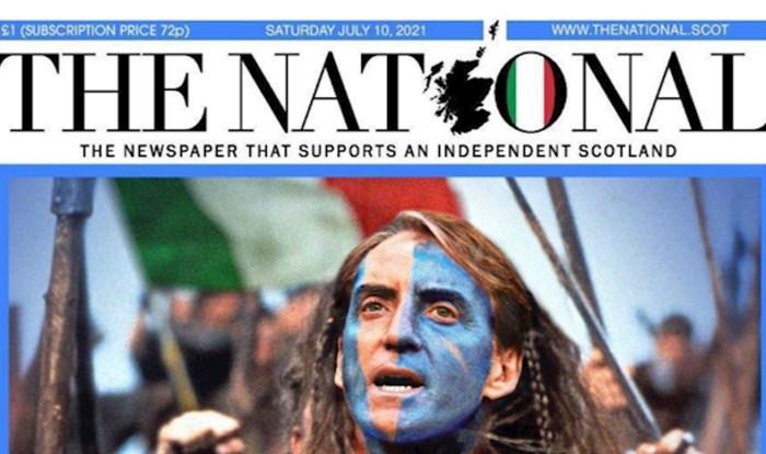 Škoti razbjesnili Engleze porukom prije finala Eura, pogledajte naslovnicu o kojoj svi pričaju