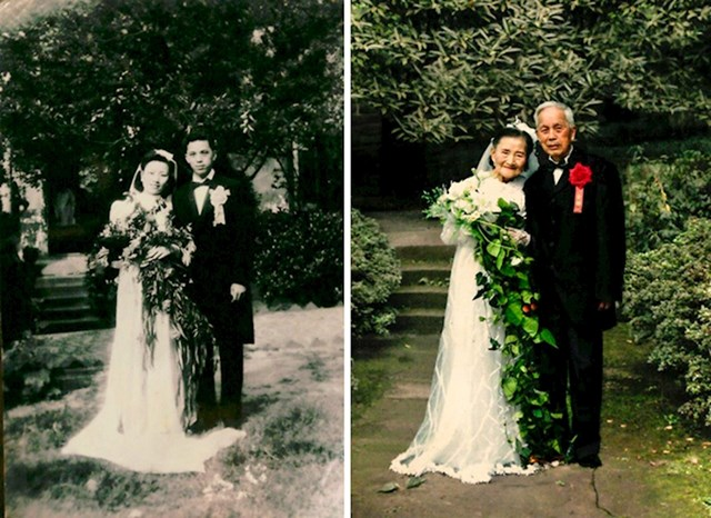 Ovaj par je nakon 70 godina rekreirao svoje vjenčanje