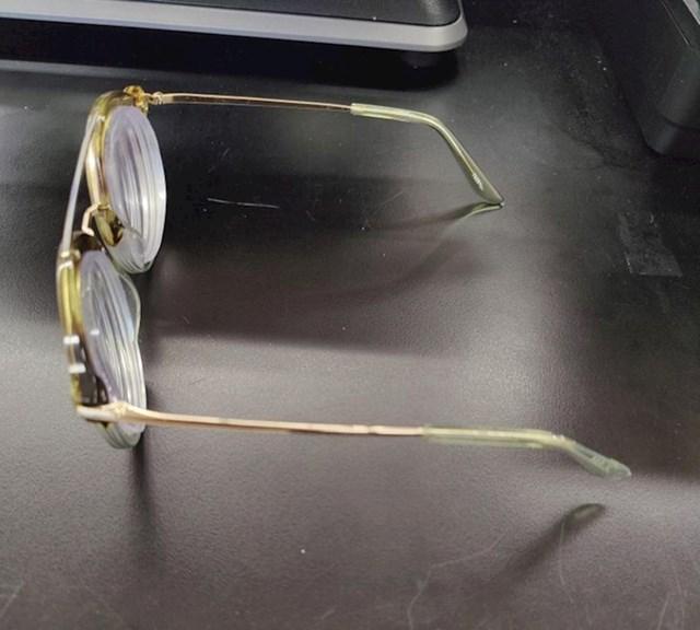 Naočale s dioptrijom 14,5