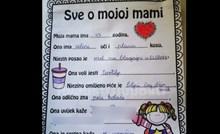Djevojčica je trebala napisati omiljene riječi svoje mame, ovo definitivno nismo očekivali