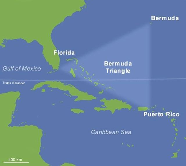 Bermudski trokut je pretjerana priča