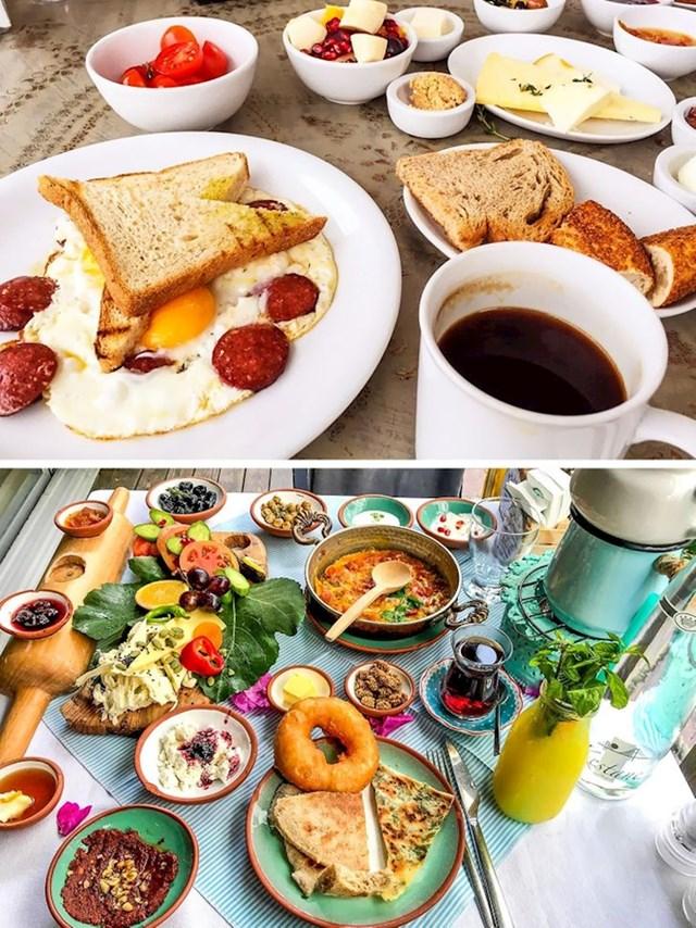 Nedavno sam proveo nekoliko dana u Istanbulu kod prijatelja. Prema njegovim riječima, ovo je tipičan turski doručak s kojim započinje svaki dan.