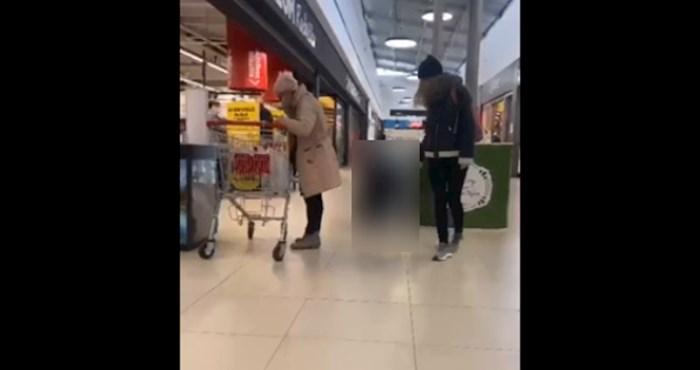 Pojavio se video bizarne šetnje u Zagrebu: Ljudi u šoku gledali djevojku kako na uzici vodi dečka