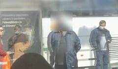Neobjašnjiva fotka iz Zagreba: Morate vidjeti kako je tip upotrijebio masku