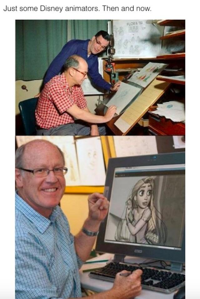 Disneyjevi crtači stripova, prije i poslije