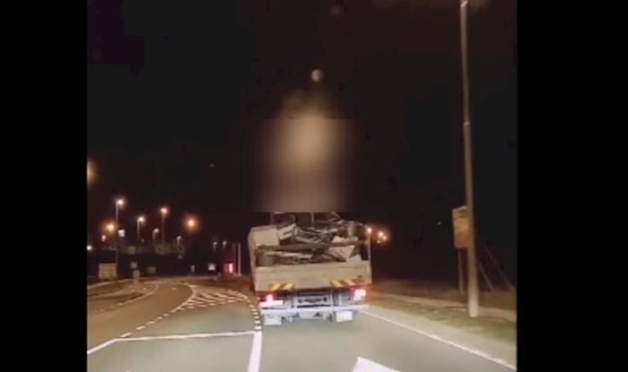 VIDEO Morate vidjeti što je tip iz Rijeke uspio nasaditi na kamion