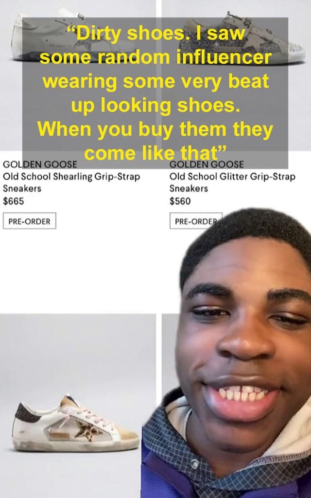 Prljave cipele; kad si bogat i skupo platiš prljave cipele to je ok, a ako si siromašan i imaš prljave cipele svi te sažalijevaju
