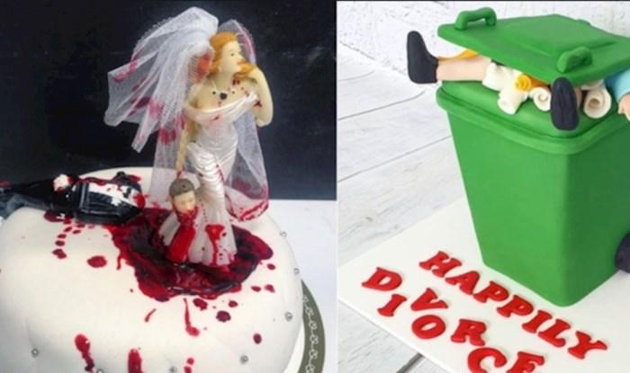 Razvodi su novi hit za proslave, ove torte će vas oduševiti