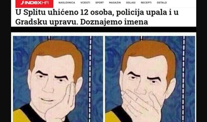 Facebookom se širi sjajan komentar na najnovija uhićenja u Hrvatskoj. Iskreno će vas nasmijati