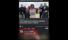 U Puli su otkrili spomenik Gagarinu, tip u komentaru otkrio na koga sliči i svi umiru od smijeha