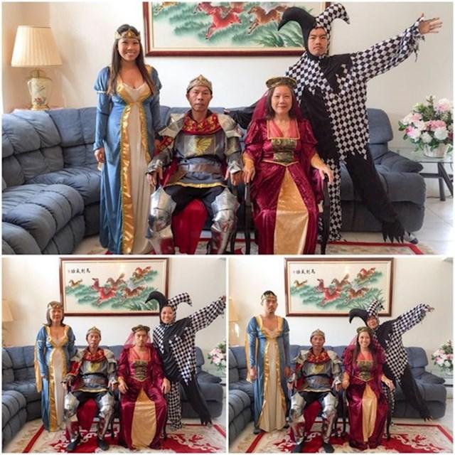 Jubilarna godišnja obiteljska fotografija