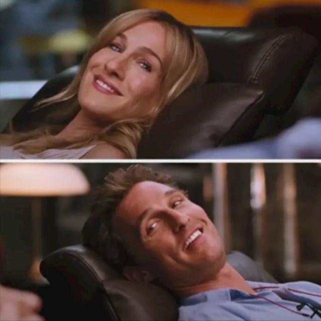 Sarah Jessica Parker i Matthew McConaughey u Failure to Launch (2006)
