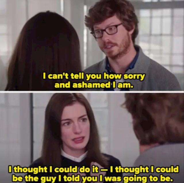 Anne Hathaway i Anders Holm u filmu The Intern (2015)