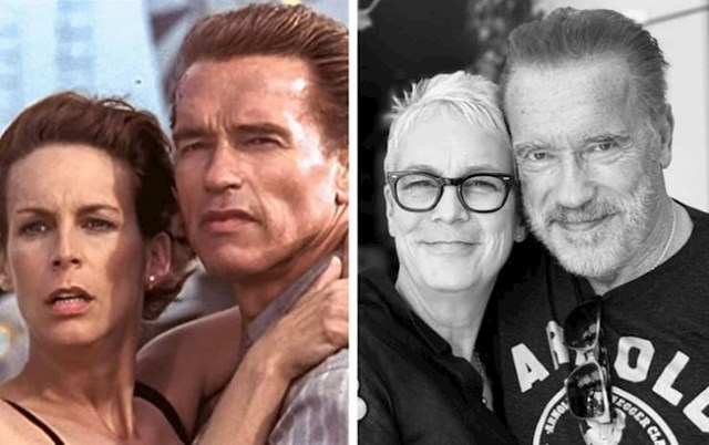 Arnold Schwarzenegger i Jamie Lee Curtis (Harry i Helen)