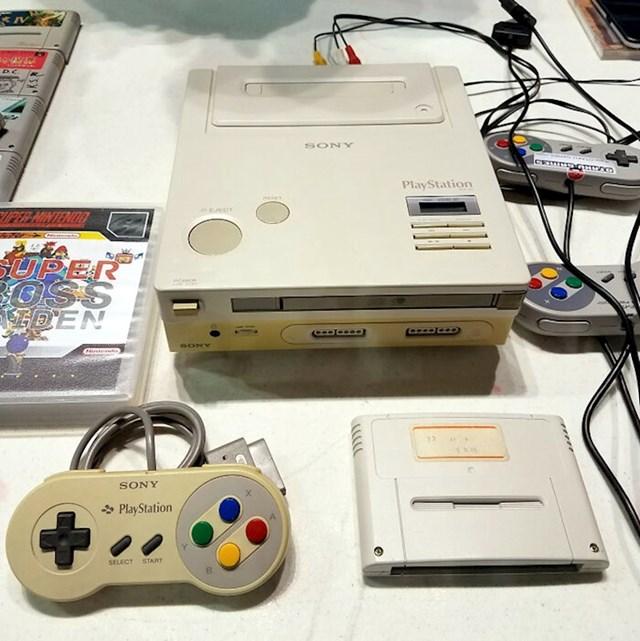 Nintendo je ušao u partnerstvo sa Sonyjem te su odlučili stvoriti konzolu s CD-om