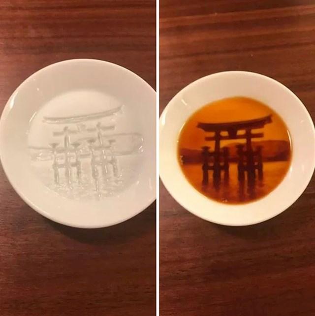 Kad se ulije juha, tanjur postaje umjetničko djelo