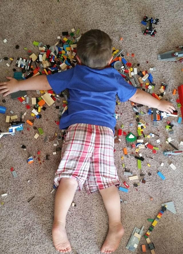 OVako je moj sin zaspao, mora da je besmrtan