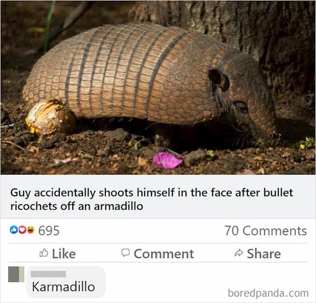Lik je pucao u pasanca, a metak se odbio u ustrijelio ga u lice