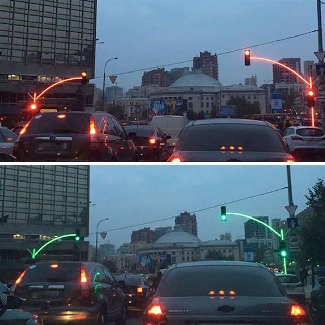 Genijalni semafori u Ukrajini