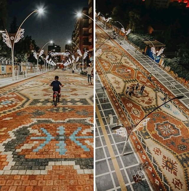 Ulica u obliku tapeta
