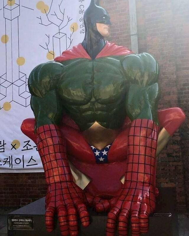Što je ovo? Svi super junaci u jednom?
