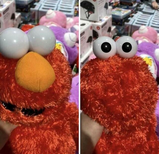 Elmu su oči s krive strane glave