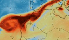 Mapa pokazuje kako se kreće toksični dim nakon erupcije vulkana, pogledajte kako je prošla Hrvatska