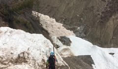 Planinari su uspjeli snimiti točan trenutak dolaska ogromne lavine, snimka je zastrašujuća