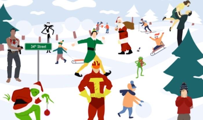 Možete li pronaći svih 10 božićnih hitova skrivenih na ovoj fotografiji?