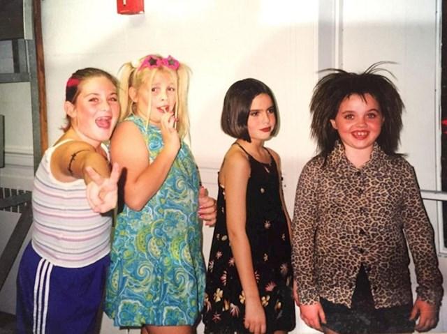 Moje prijateljice i ja, uvjerene da smo iste Spice Girls