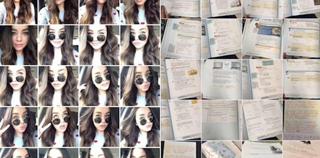 Dvije vrste studenata i njihove slike na mobitelima...