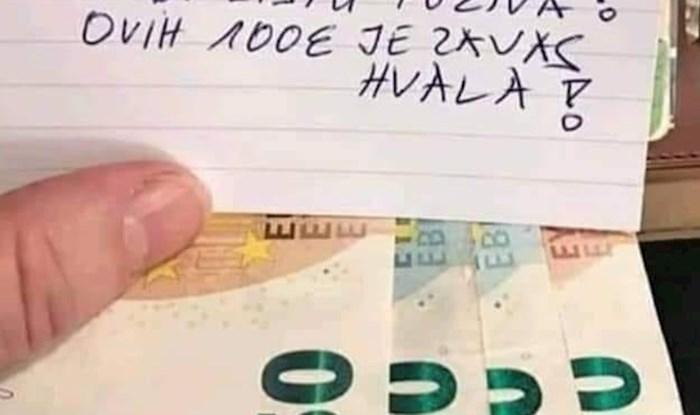Ponudio je majstorima 100 eura, umrijet ćete od smijeha kad vidite zašto