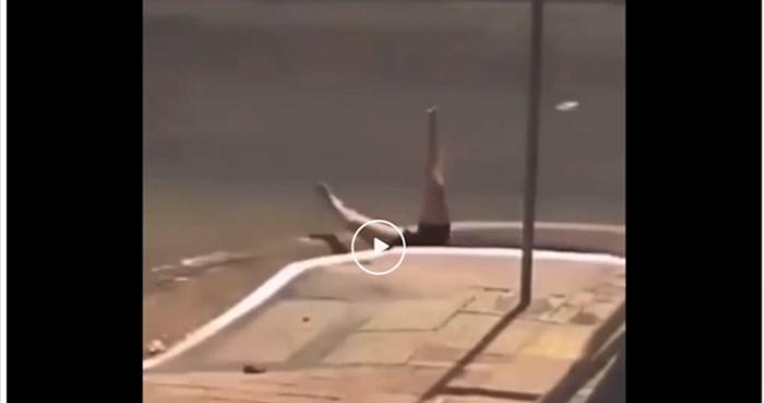 Ova žena doživjela je vjerojatno najbizarniju prometnu nesreću ikad zabilježenu