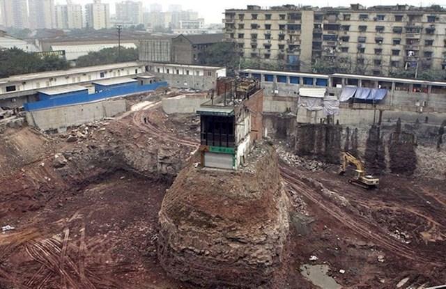 Stanovnici se odbijaju preseliti zbog nove gradnje
