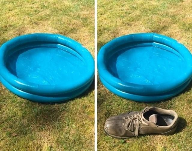 Evo ga, bazen za djecu veličine cipele