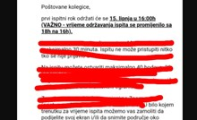 Procurile upute s jednog hrvatskog faksa: Pogledajte kako izgleda polaganje ispita u koroni