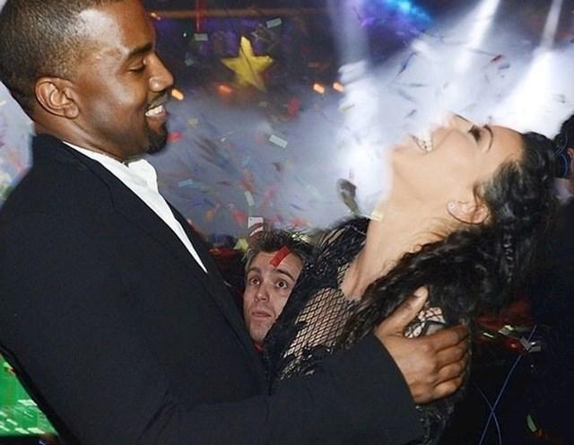 Moj prijatelj je uništio trenutak između Kim i Kanye tijekom novogodišnje zabave prije nekoliko godina