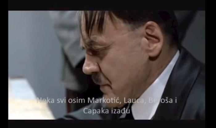 """Netko je napravio urnebesnu parodiju: Pogledajte kako """"Hitler"""" organizira cijepljenje u Hrvatskoj"""