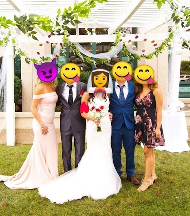 Kad krivoj osobi daš da uredi svadbene fotografije...